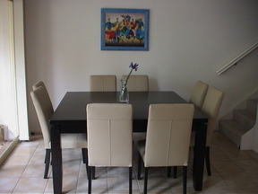 Our new dining table
